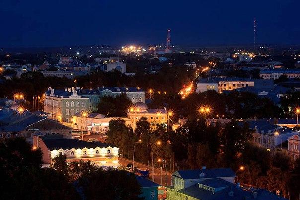 Доброй ночи, кружевная столица России