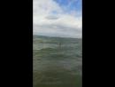 Брызги, визги и восторг! Шторм на Обском море в июле