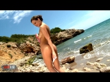 Tina Kay - Hot pornstar Tina Kay stripping and fucking at the beach