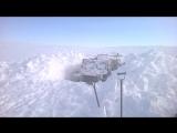 Технику достаём из под снега на Севере, Новосибирские Острова 2016