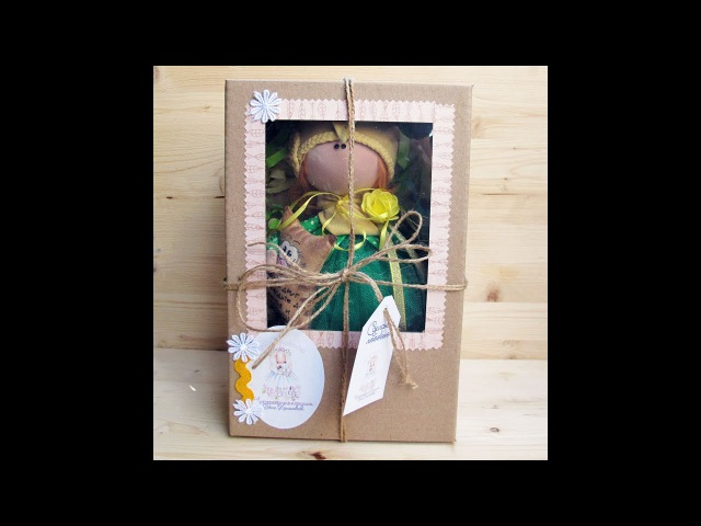Коробочка мастер класс (в какие коробки я упаковываю кукол)