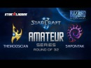 Amateur Series Round of 32: themoOsician (P) vs Shpontak (Z)