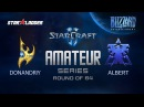 Amateur Series Round of 64: DonAndriy (P) vs Albert (T)