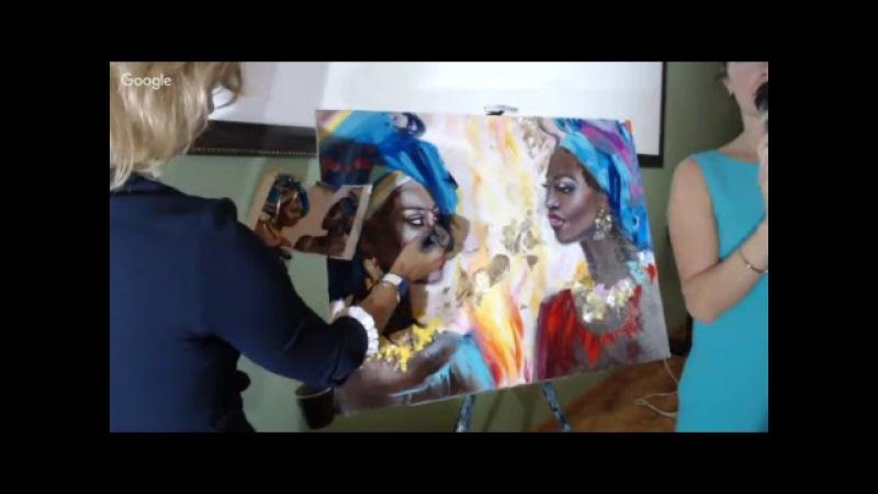 Онлайн-трансляция мастер-класса Ольги Базановой Эмоции в портрете