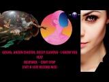 Gosha, Anton Ishutin, Dessy Slavova - I Know You Feat Deepjack – Cant Stop (fati B live record mix)