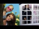 Барби и Тереза следят за героем-пожарным. Мультфильмы с куклами