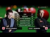 Shaun Murphy v Barry Hawkins Masters 2017
