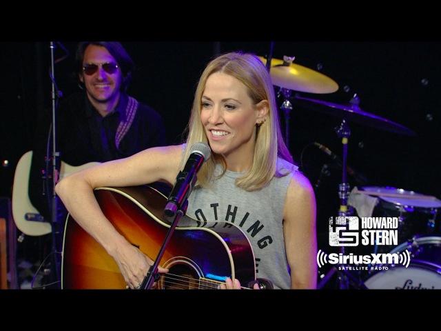 Sheryl Crow All I Wanna Do Live on the Howard Stern Show