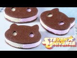 COOKIE CAT ICE CREAM SANDWICHES - STEVEN UNIVERSE - NERDY NUMMIES