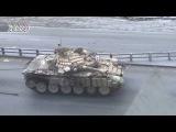 Сирия Зачистка местности танками Аль Кабун 2 Часть