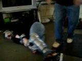 Rapo Duct taped humpty dumpty pushover