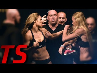 MMA Staredowns Go Wrong - Craziest Weigh In Fights -