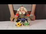 Баба Яга шкатулка  www.artshop-rus.com