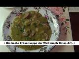 Erbsensuppe Rezept - Ich sage, der leckerste Erbseneintopf der Welt!