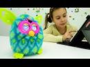 Детское видео #ФЕРБИ. Обзор приложения - ФЕРБИ БУМ. Игрушка Ферби
