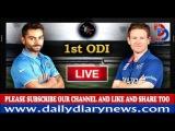 Highlights | India vs England 1st ODI | Virat Kohli and Kedar Jadhav's centuries | india won