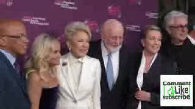 Kristin Chenoweth, Ginny Mancini and Julie Andrews at the Mancini Delivered A Musical Tribute To G