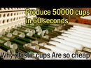 Produce 50,000 Plastic Cups in 1 Minutes - Amazing Manufacture Production Line