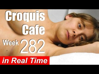Croquis Cafe: Figure Drawing Resource No. 282 (pregnant model)