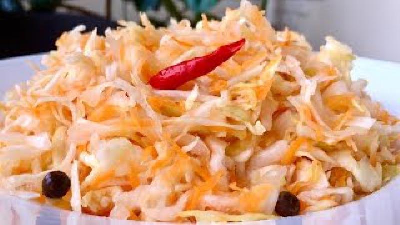 Квашеная Капуста хрустящая и сочная Очень простой рецепт Sauerkraut Recipe смотреть онлайн без регистрации