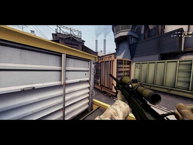 CS:GO - fakeufo wallbang AWP