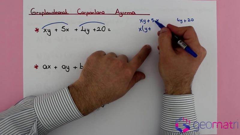 8. Sınıf Çarpanlara Ayırma 1 (TEOG) - Konu Anlatımı ve Soru Çözümleri