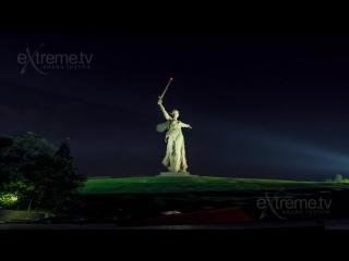 Волгоград - Родина Мать, Мамаев курган, Сталинградская битва-Timelapse
