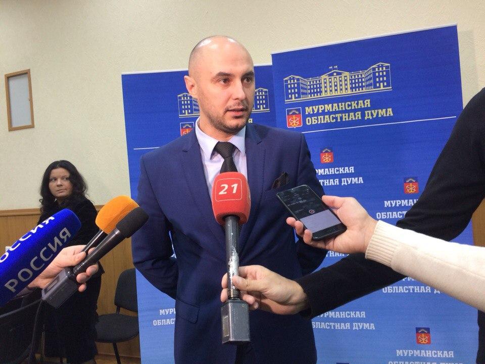 Сергей Дубовой стал председателем областной думы