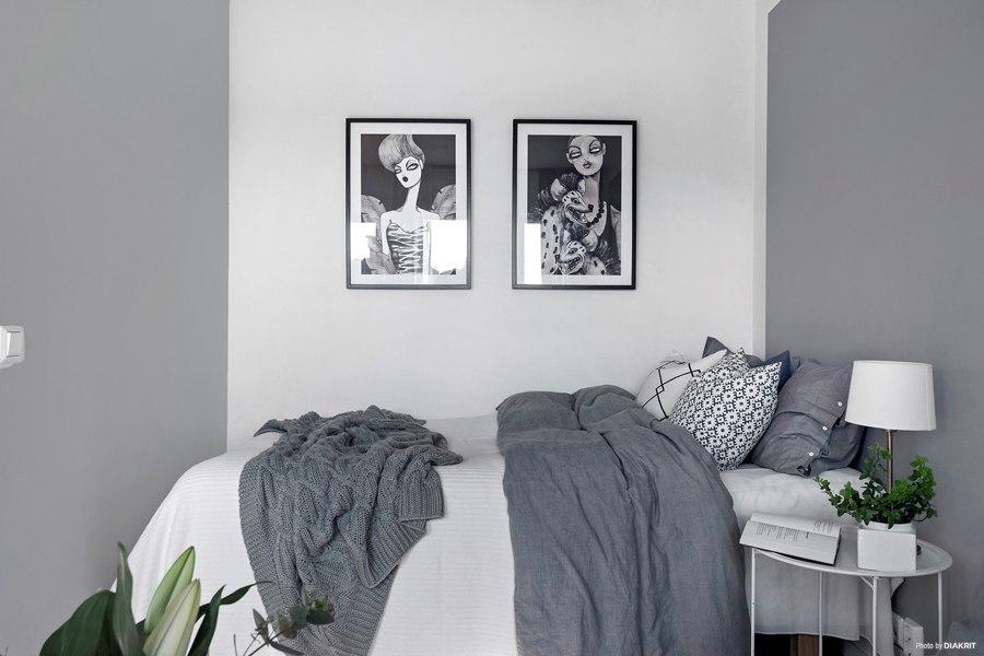 Квартира-студия 30 м в Швеции.