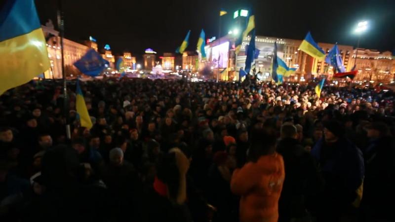 Євромайдан- Хто не скаче, той москаль