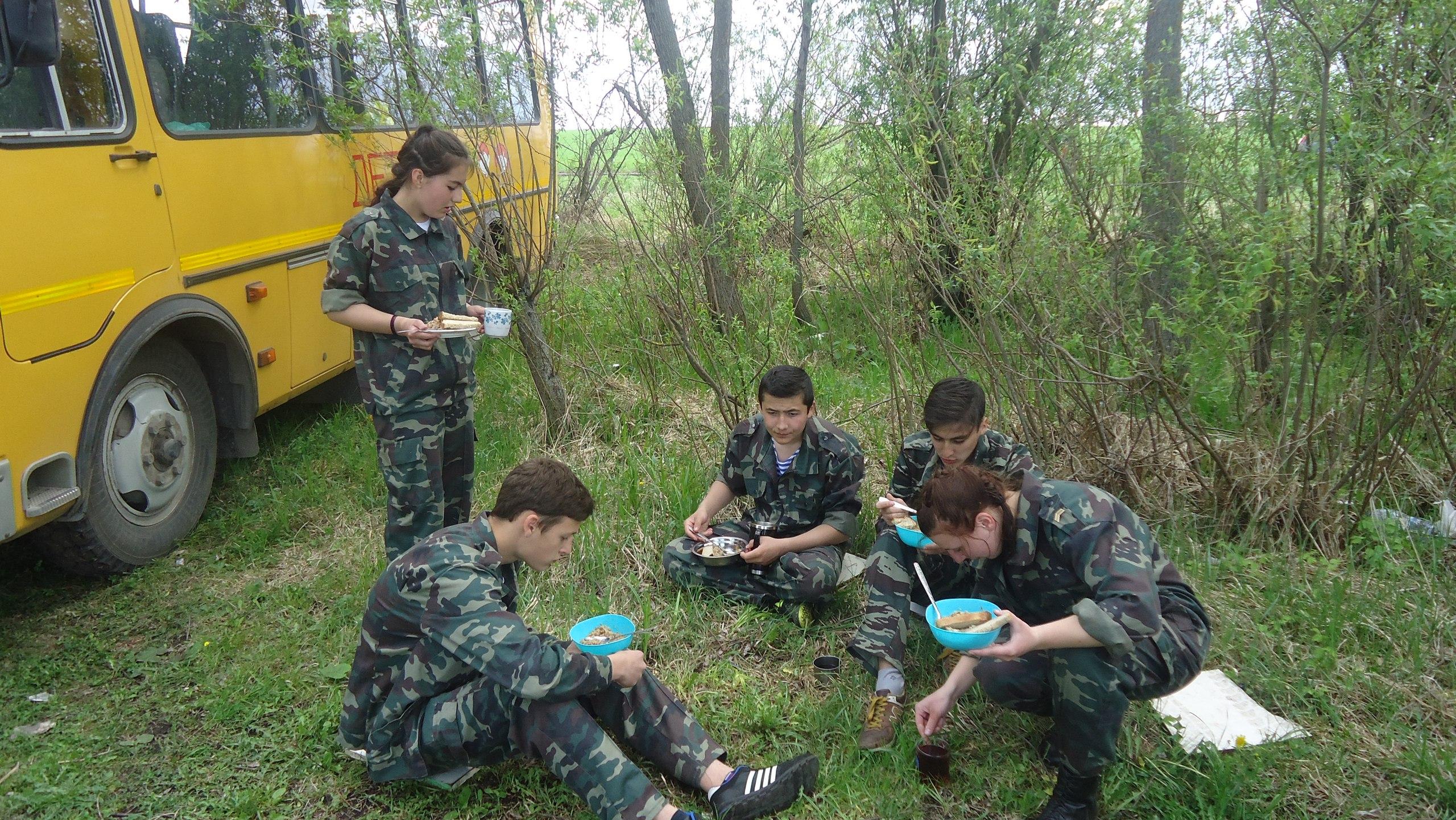 Для команды «Юный Патриот России» это первый опыт