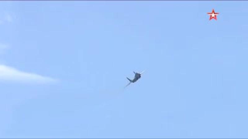 Высший пилотаж на МиГ-35 в ходе МАКС-2017