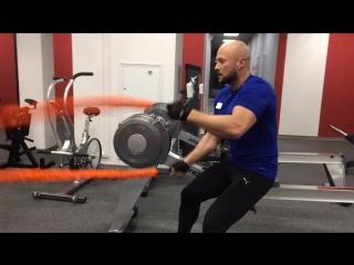 тренировка с тросами