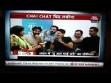 Chaichat от SBB Барун на инд телевидении с командой ТМВ