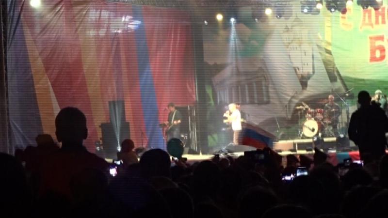 Концерт Олега Газманова Брянск День города 17 сентября 2017 Я рождён в Советском Союзе