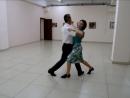 Медленный вальс в школе танца Рубин 2017.08.21