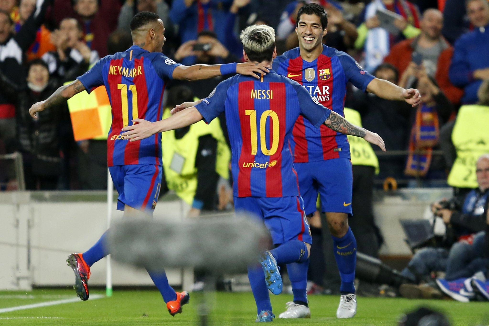 Барселона 3-0 МС