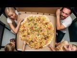 Самая большая пицца в Ставрополе