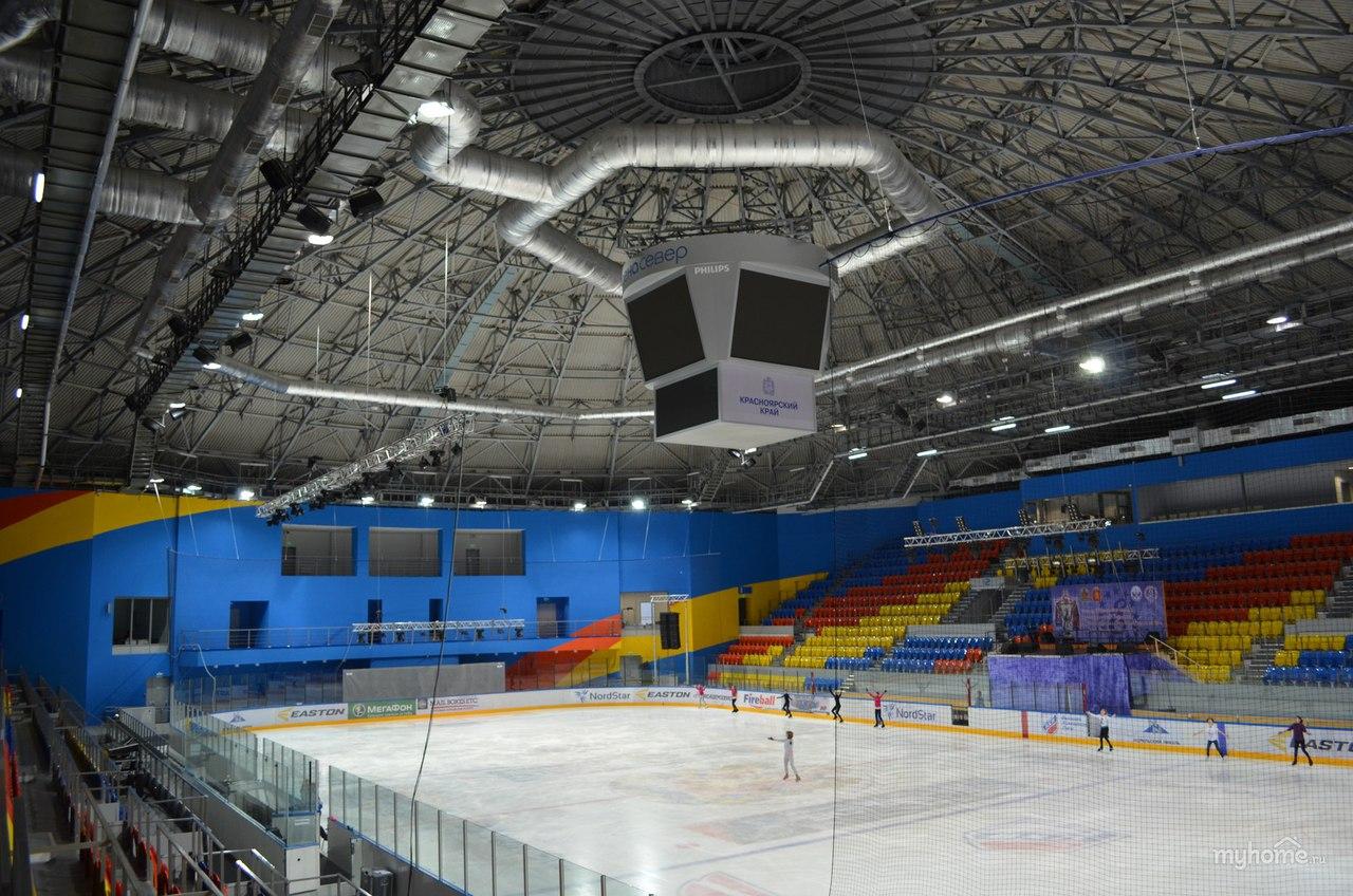Ледовый дворец «Арена-Север» в Красноярске
