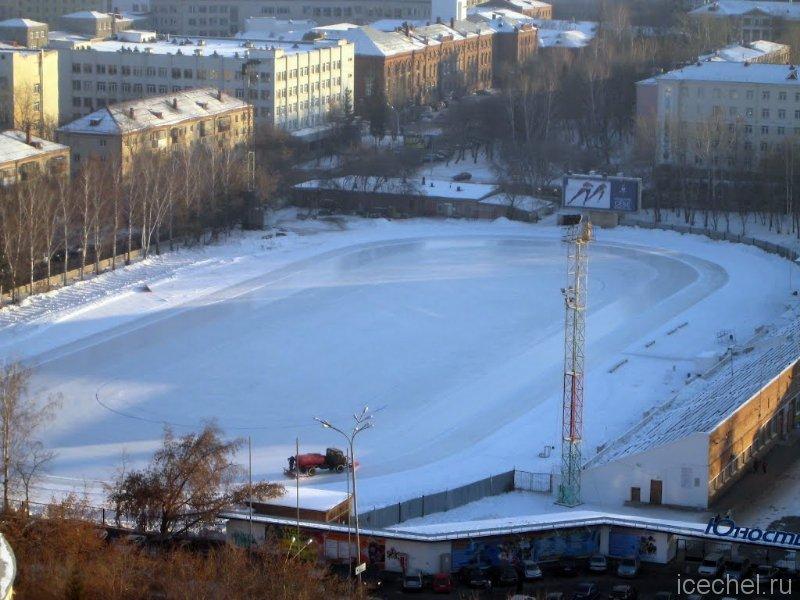 Каток «Юность» в Екатеринбурге