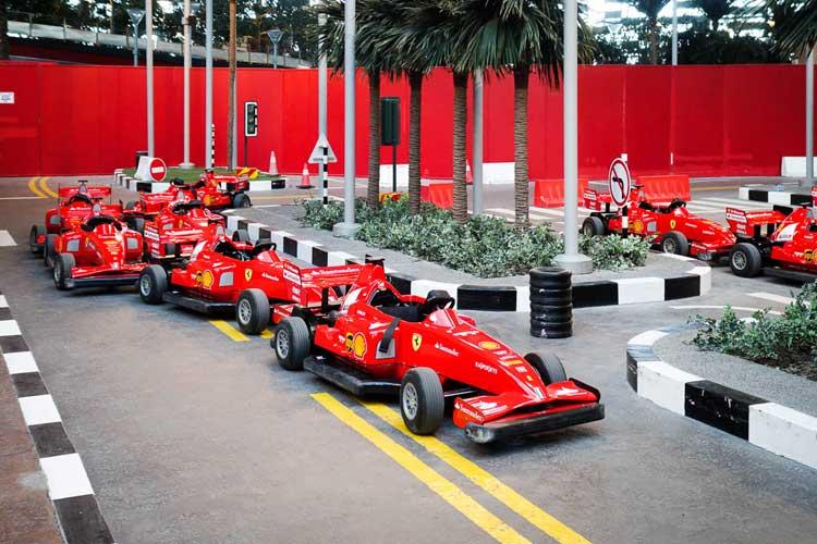 Феррари парк в Абу-Даби (Ferrari World)