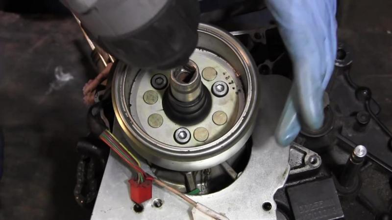 СВОИМИ РУКАМИ- Ремонт двигателя GEON NAC 250cc 1 Часть