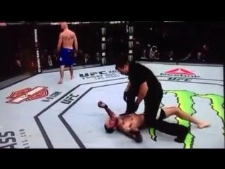 UFC 206 Нокаут от Ковбоя