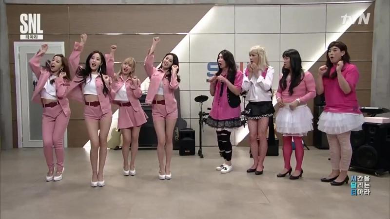 T-ARA Meet and Greet @ tvN Saturday Night Live