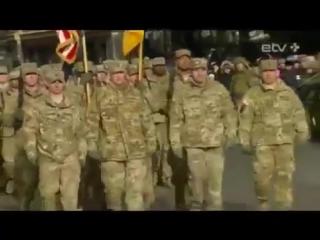 День независимости Эстонии. Военный парад. Дрожь и трепет