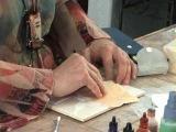 Barbara McGuire Gold Leaf Mokume Gane Polymer Clay Tutorial