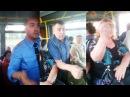 Пассажир киевского троллейбуса Ты стоишь в голубом, а я пидарас