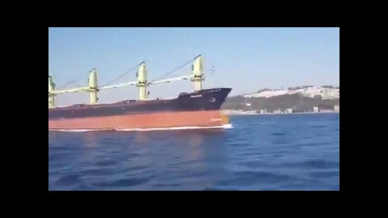 Сухогруз протаранил катер турецкой береговой охраны