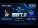 Amateur Series Round of 16: themoOsician (P) vs CadoEverto (T)