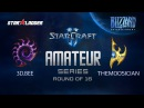 Amateur Series Round of 16: 3D.Bee (Z) vs themoOsician (P)